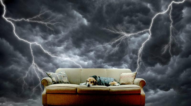 Vihar miatti félelem