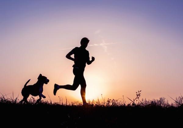 Futás kutyusunkkal
