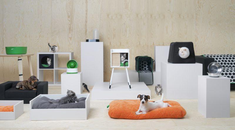 Magyarországon is elérhető lesz az IKEA kutyáknak és macskáknak tervezett kollekciója